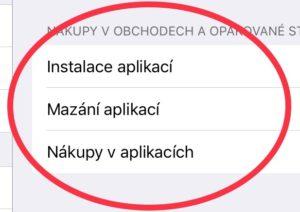 Funkce Omezení nabízela uživatelům mobilních jablečných technologií možnost upravit některé funce směrem k bezpečnému používání těchto zařízení. Už název funkce napovídá, že tímto způsobem můžeme uživatelům omezit přístup k některým aktivitám a mít kontrolu nad správou zařízení. Po updatu na iOS12 už fuknce Omezení z nastavení zmizela.
